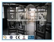 Mejor venta decoración interior de la habitación divisoria paneles / acordeón divisores del sitio