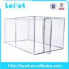 wholesale large outdoor portable dog fence/animal cage/large dog house
