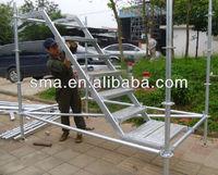 ring-lock staging scaffolding ladder