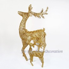 2015 Fashion Handicrafts Christmas Led Light Reindeer Indoor & Outdoor Home Decoration Gifts