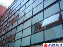 6000 series aluminum profile rail for curtain wall system