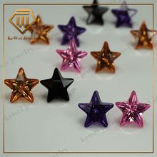 Exotic wholesale jewelry 10mm black pink citrine CZ Gemstones