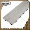 Fire-proof and fire retardant vinyl floor plastic planks
