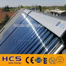 2015 new heat pipe parabolic manifold solar collector, solar pool collector,CPC solar collector panel