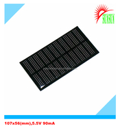 Epoxy resin PET laminated 0.5W 5.5V 90mA solar panel