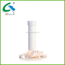 Vitamin C Effervescent Tablet with Iron and Folic Acid inside