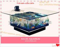 Fish tank-coffee table, coffee tank aquarium,make aquarium coffee table