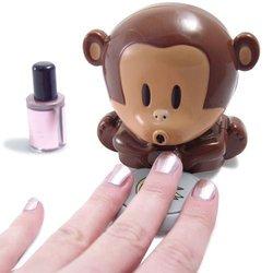 1pcs Monkey Hand Portable Blowing Nails Dryer Fingernail Dryer Quick Nail Art Polish Blower