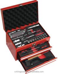 74PCS 1/4''hand tool set car reparing combo kit(KSMT-74)HIGH QUALITY