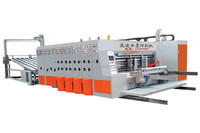ZWR-High speed four color printer slotter rotary die cutting machine