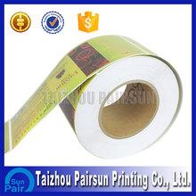 Custom printing waterproof adhesive labels for plastic bottles