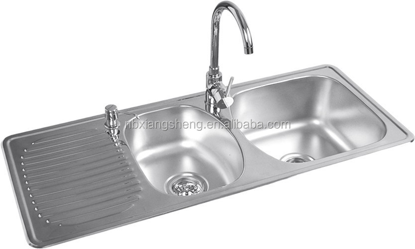 Stainless Steel Kitchen Sinks With Drainboards : ... Stainless Steel Sinks,Stainless Steel Sink With Drainboard,Stainless