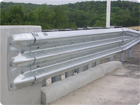 AASHTO M180 Road barrier with thrie waves beam