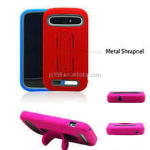 Top seller fashion U shape kickstand robot back cover for ZTE Grand X Max Z787