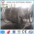 Molde OEM para plástico agua tractor vehículo tanque roto tanque del radiador tanque moldeado Diesel