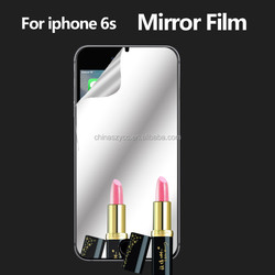 Popular mirror screen cover for iphone 6s LCD screen guard