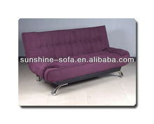 Comfortable Microfibre 3 Seater Fabric Sofa Bed