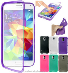 Soft TPU Flip Touch Case Cover For Samsung Galaxy S5 Mini