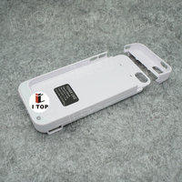 Portable backup battery case for iPhone 5 5s 5c with 4200mAh