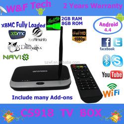 2GB/8GB android 4.2 tv cs918 rk3188 quad core cs918s full hd 1080 porn video android tv box 4k tv box free arab sex movies cs918