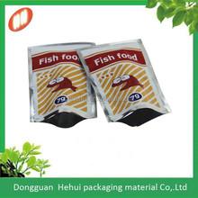 custom printing three side sealed air proof food pakcaging bag