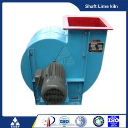 High pressure centrifugal fan impeller design