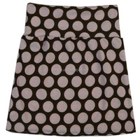 2015 new casual style print pink dots fashion girls in school short skirts
