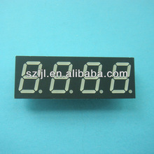 0.52 inch/0.52'' 4 digits/four number 7 segment led display
