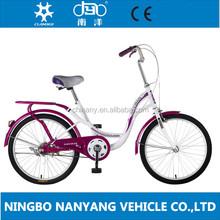 22 inch high ten steel frame Bike GB3053 /vintage ladies bike/ single speed