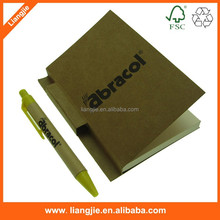 stand pen with notepad