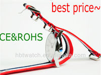 2014 hotselling alibaba China custom nylon strap watch with many colors for gifts