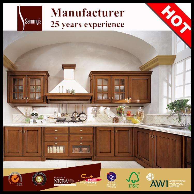 Gabinete de cocina de madera maciza pa s gabinetes de for Amortiguador armario cocina