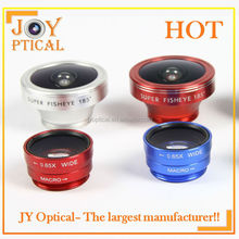 Premium quality hot sale 185 degree Fisheye lens for cell phone mobile phone lens camera portable