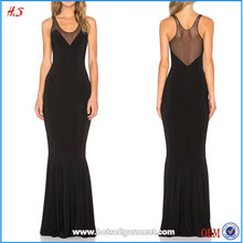 Wholesale Custom Low Price Ladies Long Evening Party Wear Gown One Piece Girls Party Fishtail Evening Dresses