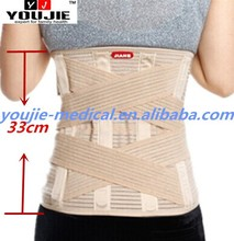High Quality Double Pull Back Pain Relief Belt Lumbar Spine Support Brace