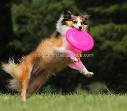 Wholesale Silicone Dog Frisbee training Fetch