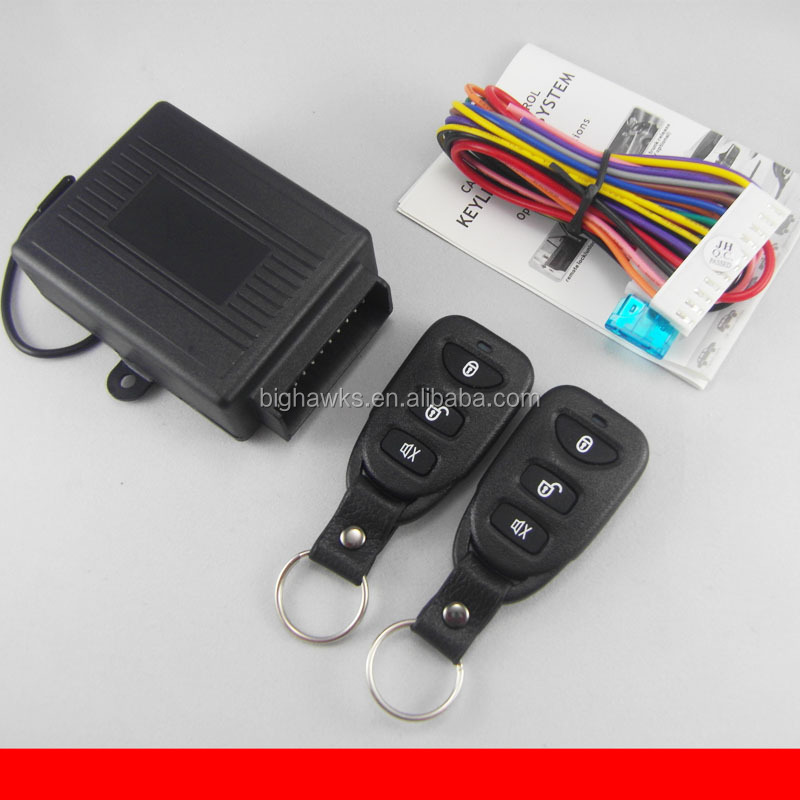 User manual installation guide operation description for Keyless entry system