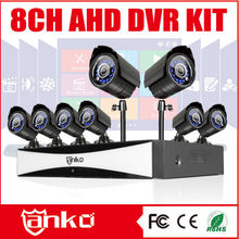 Leading AHD DVR Manufacturer New 8 channel CCTV camera system