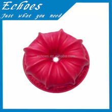 Popular LFGB standard silicon cooking molds flower shaped