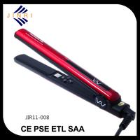 Portable durable MCH heating hair straightener free sample keratin flat iron