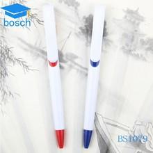 Uae national day gifts plastic ballpoint pen white pretty plastic pen