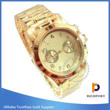 Hot Sale, Fashion Quartz Gold Watches for Woman