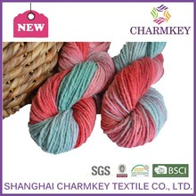 100% wool double knit yarn and soft