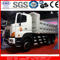 China top HINO brand 6x4 dump truck for sale