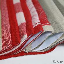 Venta al por mayor 100% tela de lino para cortinas camisa