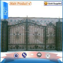Alibaba designer steel gate made in china