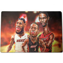NBA superstar mouse pad