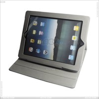 Litchi Grain Wallet Style Tablet Leather Stand Case with Card Holder for iPad 2/3/4 P-iPAD3CASE053