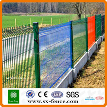 alibaba china plastic spraying bend wire fence mesh