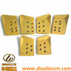 Heavy Equipment Spare Parts Cutting Edge End Bits12mm Thickness Loader Bits End